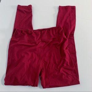 Lularoe maroon leggings